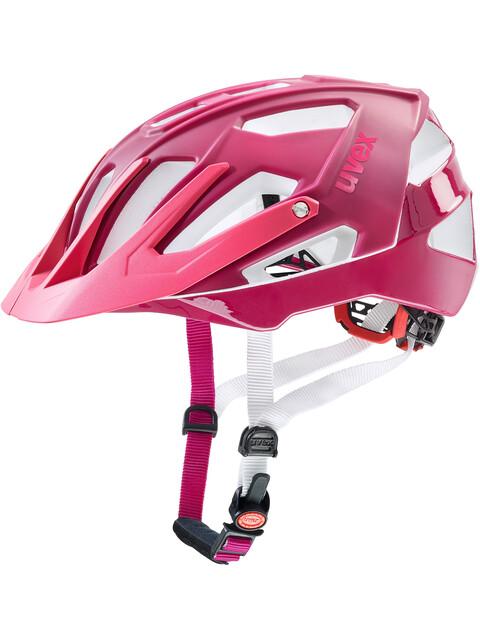 UVEX Quatro Helmet blackberry matt